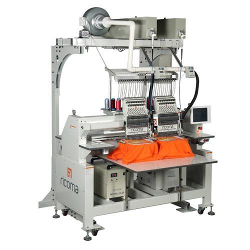Вишивальна машина з лазерним різаком RICOMA CHT2-1502-LC