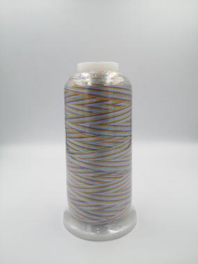 Нитка віскозна вишивальна мультиколор Sakura Thread 48