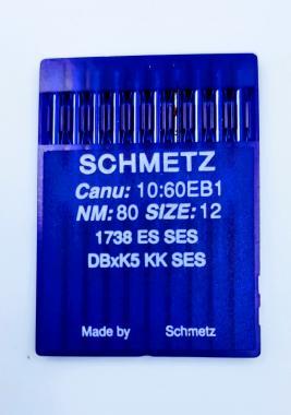 SCHMETZ DB*K5 KK №80 SES .Голки для вишивальних машин Riсoma.