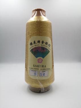 Нитка металізована Sakura Thread № 5