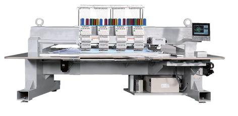 Вишивальна машина  RICOMA FHT-1204 з плоскою платформою