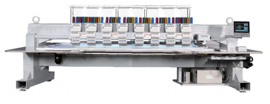 Вишивальна машина  RICOMA FHT-1208 з плоскою платформою