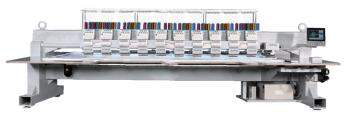 Вишивальна машина  RICOMA FHS-1210 з плоскою платформою