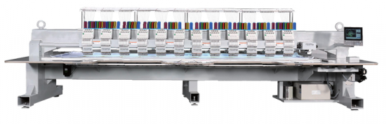 Вишивальна машина  RICOMA FHS-1212 з плоскою платформою