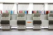 Вишивальна машина  RICOMA FHT-1212 з плоскою платформою